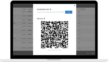 EQL shareable link update