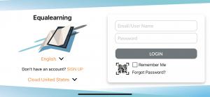 Equalearning-APP-login